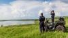 Trei moldoveni s-au aventurat pe râul Prut. Imediat au fost reţinuţi de poliţiştii de frontieră