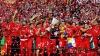 Sărbătoare în Spania. Sevilla a celebrat trofeul cucerit în Liga Europei