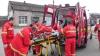 Exerciţii de salvare la Orhei. Pompierii au folosit echipament de ultima generaţie