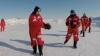 Meci de rugby, organizat la Polul Nord la o temperatură de minus 30 de grade Celsius