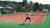 Mai mulţi jucători din lotul paralimpic al țării au profitat de vremea frumoasă pentru a juca tenis de câmp