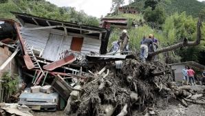 DEVASTATOR: Zeci de oameni morţi şi case distruse în urma unor alunecări de teren