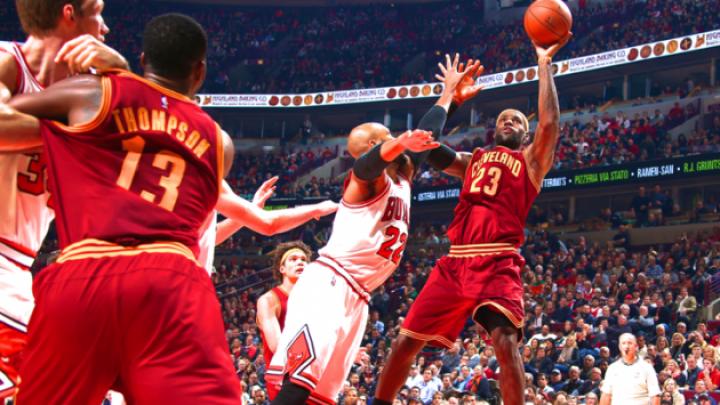 Chicago Bulls a ieşit victorioasă din meciul cu Cleveland Cavaliers