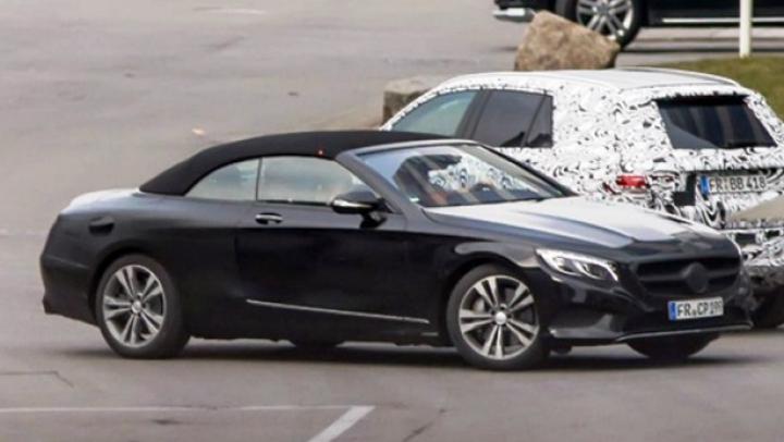 Mercedes se pregăteşte să lanseze o decapotabilă GIGANT