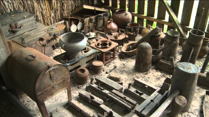 Muzeul din satul Cotova, Drochia, este singurul muzeu în aer liber din ţară