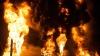 IADUL PE PĂMÂNT! Imagini apocaliptice de la incendiul depozitului petrolier din Ucraina (FOTOREPORT)