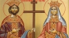 Sfinţii Constantin şi Elena, sărbătoriţi de ortodocşi. Câţi moldoveni sunt felicitaţi cu ziua numelui