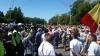 Miting în Centrul Capitalei. Ce au SCANDAT protestatarii