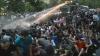 Maidanul din Armenia, stins cu tunuri de apă. FOTOREPORT din timpul protestelor violente