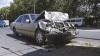 ACCIDENT cu răniţi în CAPITALĂ! Două maşini s-au lovit violent la o intersecţie (FOTO/VIDEO)