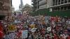 Proteste de amploare la Londra. Zeci de mii de britanici au reacţionat la o decizie a Guvernului