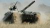 T-72 vs. T-64BM. Separatiştii din estul Ucrainei au organizat o cursă cu tancuri (VIDEO)