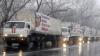 Un nou convoi militar rusesc cu presupuse ajutoare umanitare a intrat în Ucraina