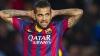 După negocieri îndelungate, Dani Alves rămâne la Barcelona