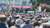 Altercații în centrul Capitalei. Poliția a format un cordon între manifestanții Platformei DA și susținătorii PL