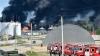INCENDIU NESTINS de patru zile lângă Kiev: Încă cinci cisterne au explodat lângă un depozit de muniţii