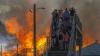 Locuitorii au fost evacuaţi. Un stadion de baseball a fost mistuit de foc în SUA