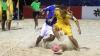 Fostele vedete al naţionalei Moldovei s-au apucat să joace fotbal pe plajă