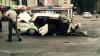 IMAGINI ŞOCANTE! Momentul în care o Lada a fost spulberată de un BMW la un semafor din Chişinău (VIDEO +18)