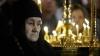 Zeci de enoriași au venit să se roage la moaştele şi icoana Sfintei Matrona din Moscova