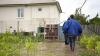 PRĂPĂD în sudul Moldovei. Ploile torenţiale şi vântul puternic au făcut ravagii