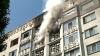Panică în Capitală! INCENDIU DE PROPORŢII într-un bloc de locuit de pe strada Albişoara (VIDEO)