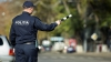 Şofer SCANDALAGIU, tras pe dreapta. S-a dat în spectacol în fața polițiștilor (VIDEO)