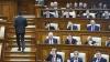 Parlamentul a luat act de demisia Guvernului