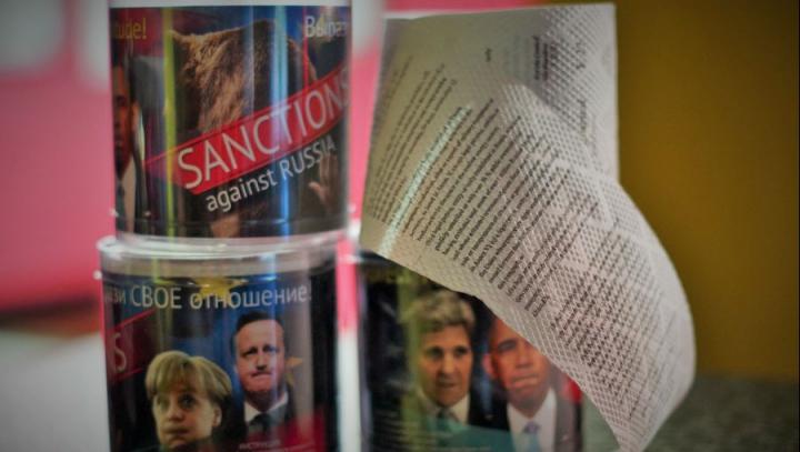 Sancțiunile occidentale, pe hârtie igienică. Acțiunile PROVOCATOARE ale unor antreprenori ruși