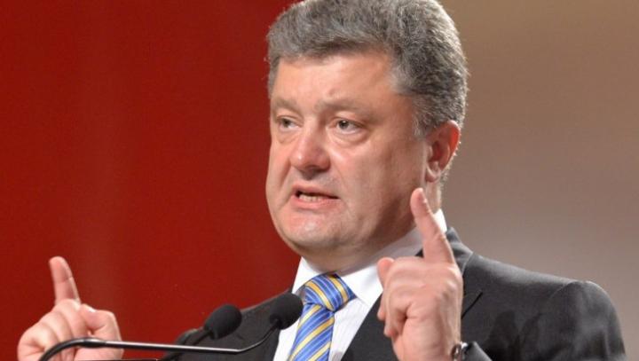 NOI PROVOCĂRI? Petro Poroşenko susţine că Rusia şi-a schimbat tactica în Ucraina