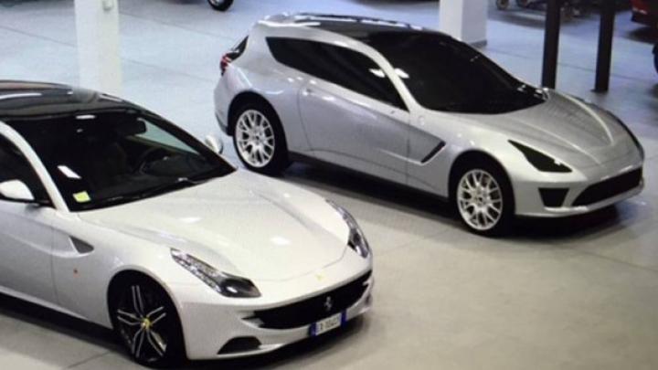 Ferrari a lansat un crossover? Imagini inedite făcute în garajul unui colecționar (FOTO)