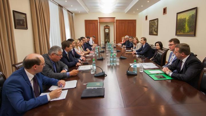 Natalia Gherman a convocat prima şedinţă de lucru cu membrii Cabinetului de miniştri în exerciţiu