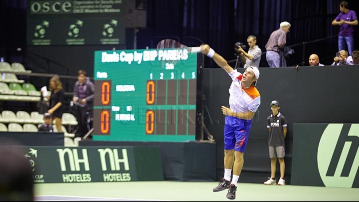 Visul frumos s-a terminat! Albot a fost eliminat de la Roland Garros