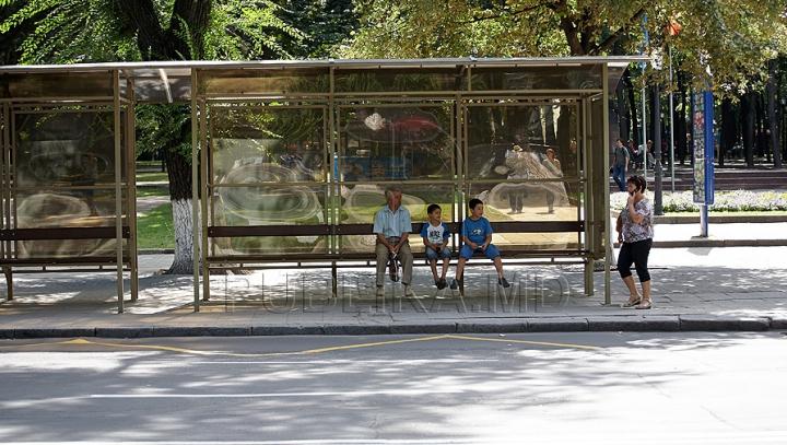 Un şofer de troleibuz s-a îmbătat atât de tare încât s-a luat la harţă cu o staţie de aşteptare