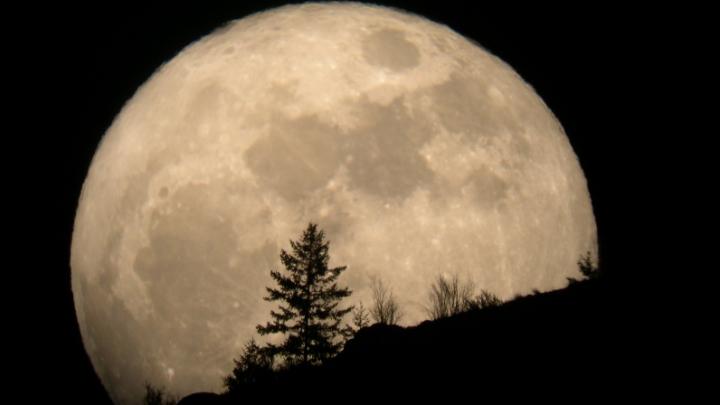 2015, anul Super Lunilor. Cum arăta aseară satelitul natural al Pământului