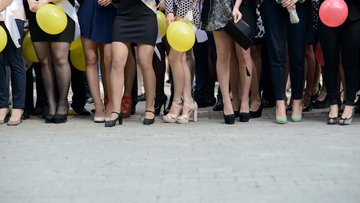 FOTOGRAFII de la Tiraspol. Cum se distrează tinerii la un bal de absolvire în stânga Nistrului