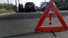 Au văzut moartea cu ochii! Un taxi s-a răsturnat în urma unui accident rutier în centrul oraşului