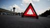 GRAV accident rutier! Şase oameni au fost internaţi, după ce un microbuz de linie S-A RĂSTURNAT
