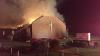 O biserică a fost CUPRINSĂ DE FLĂCĂRI. Zeci de pompieri, mobilizaţi să stingă focul