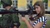Copii cu arme grele, gata să tragă. Cum este educată noua generaţie în stânga Nistrului (FOTO)