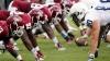 Straneităţi din fotbalul american. Ce au decis să însceneze jucătorii la un meci (VIDEO)