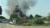 Un motel din Măgdăcești, cuprins de FLĂCĂRI! Pompierii au intervenit cu OPT autospeciale (FOTO/VIDEO)