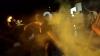 În goană după gratii. Grigore Petrenco a aruncat cu grenade fumigene (VIDEO)