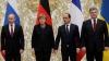 """O nouă discuţie a """"formatului Normandia"""". Ce au stabilit la telefon Merkel, Poroşenko, Putin şi Hollande"""