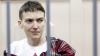 Audieri în cazul pilotului Nadejda Savcenko. Clădirea instanţei a fost încercuită de poliţişti