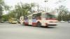 Cum arată troleibuzul care a fost avariat după ce a doborât un stâlp din Chişinău (FOTO)