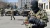 Focuri de armă şi artilerie. Două femei au fost grav rănite de separatiştii din Doneţk
