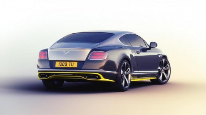 Şapte coupeuri speciale Continental GT Speed, dedicate celei mai mari echipe de acrobație din UE