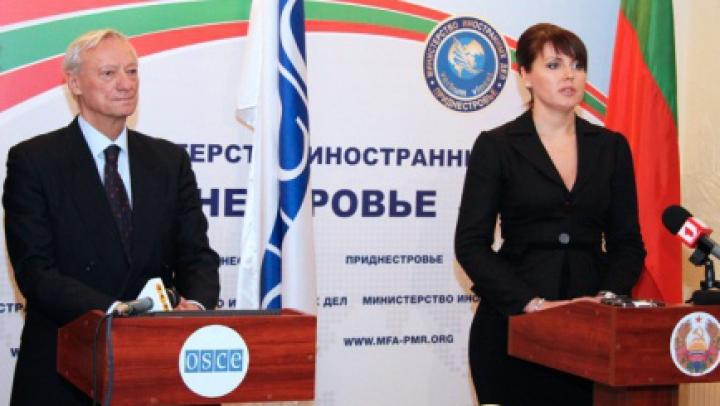Întâlniri pe marginea chestiunii transnistrene. Un oficial OSCE discută cu liderii de la Tiraspol