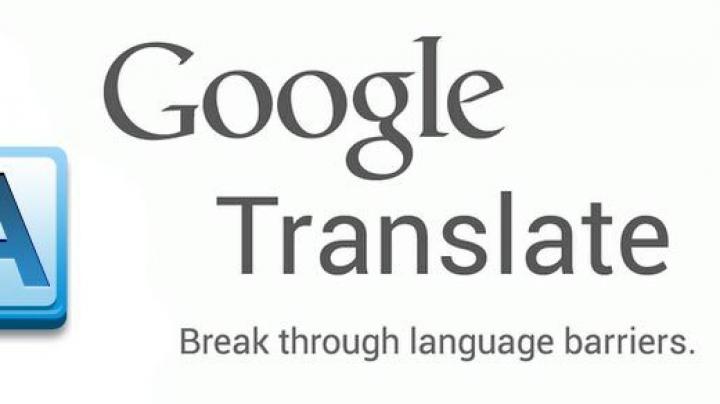 Google Translate devine mult mai eficient pe telefoanele mobile fără Internet